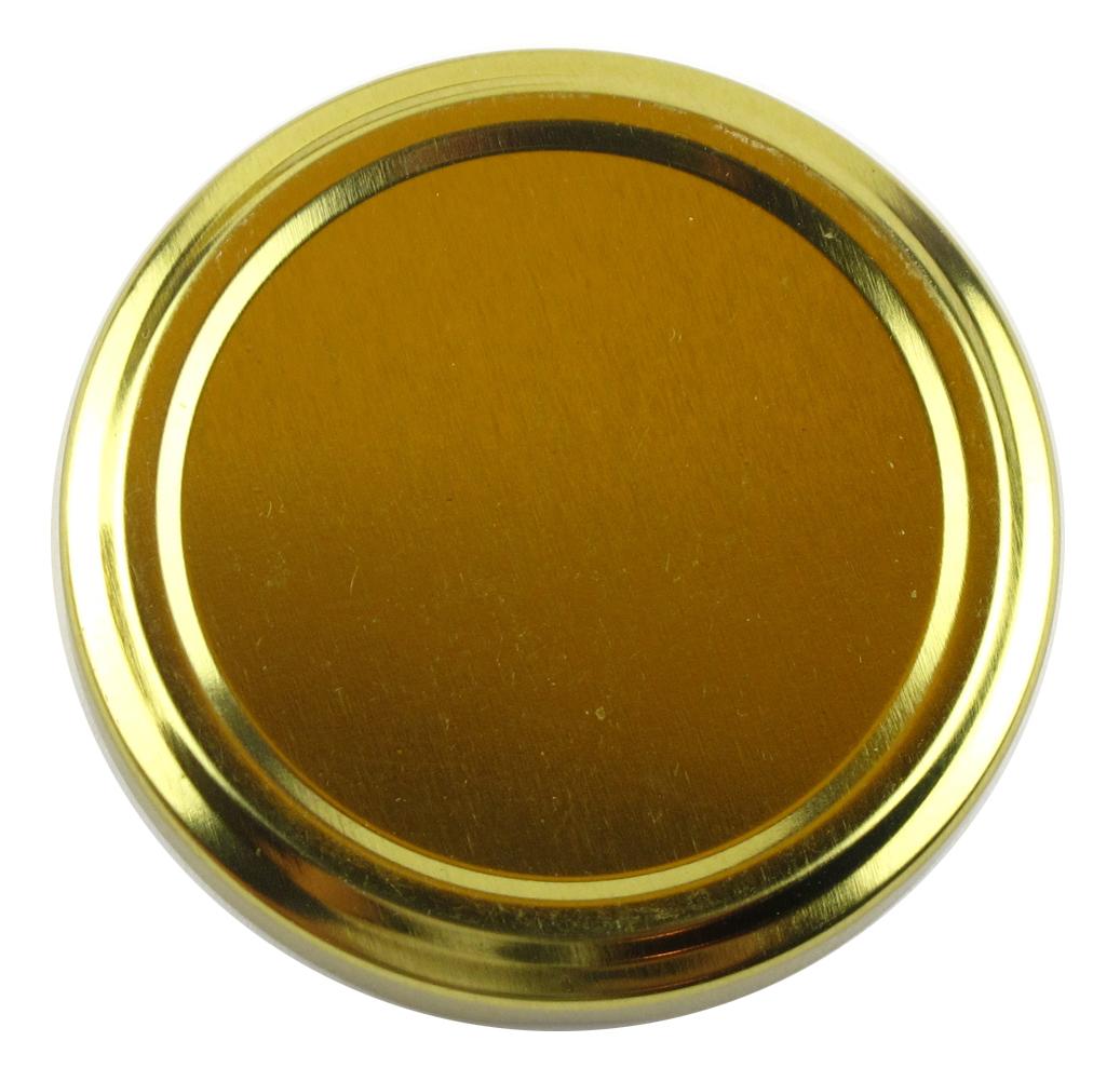 Honigglasdeckel Gold 63 mm