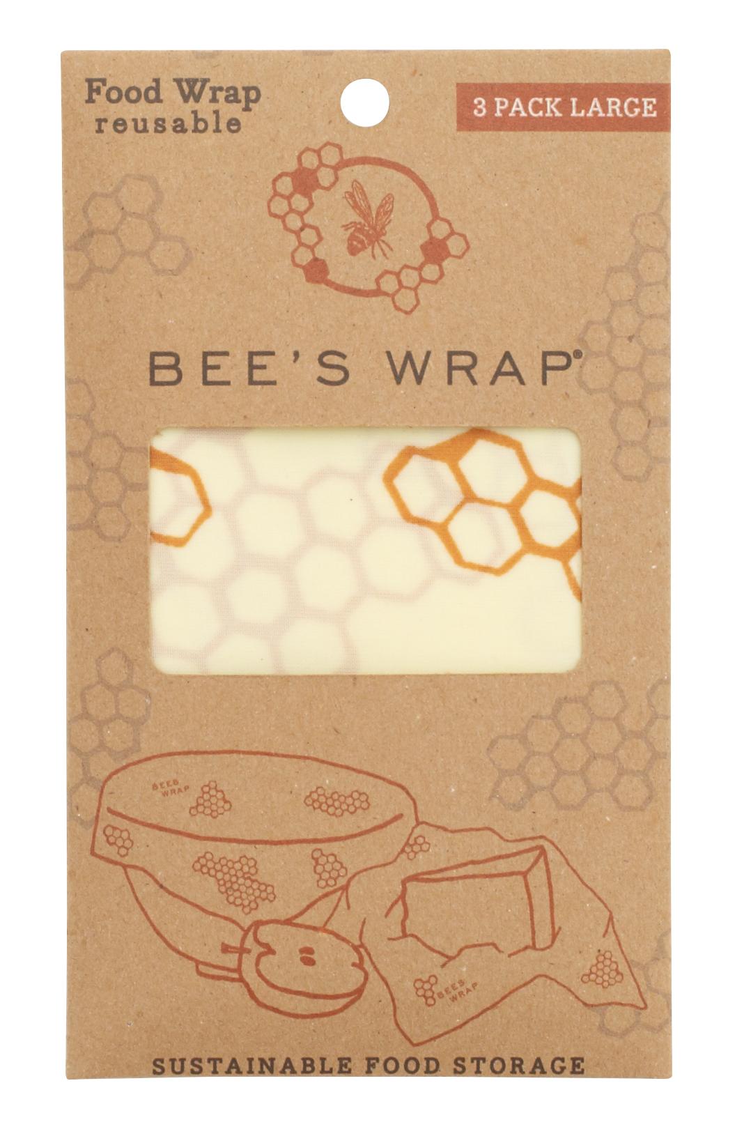 Bienenwachstuch 3er Set Large