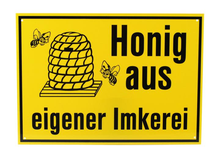 Reklame Tafel mittel - Honig aus eigener Imkerei