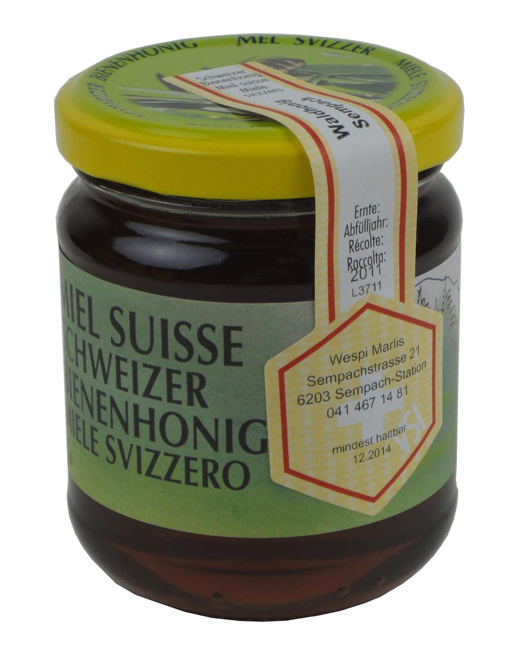 Schweizer Waldhonig 250 g
