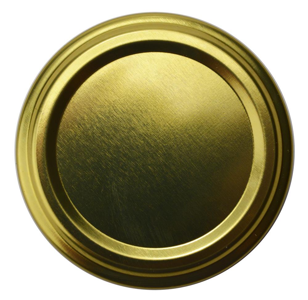 Honigglasdeckel Gold 53 mm