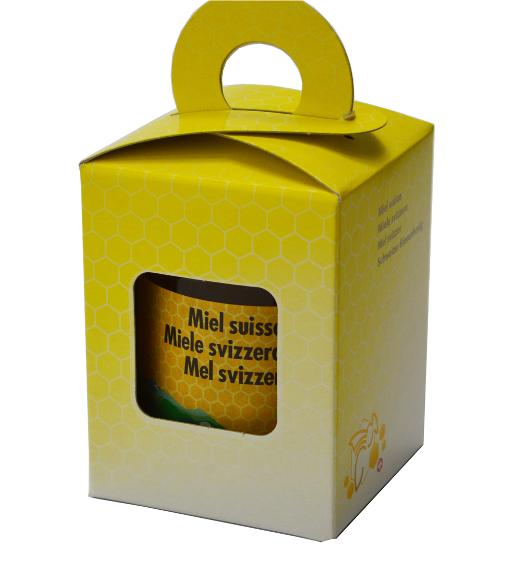Geschenkpackung Gelb/Biene 1 x 250 g