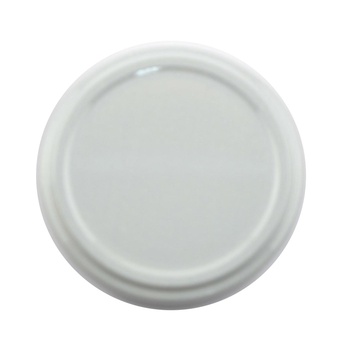 Honigglasdeckel Weiss 63 mm