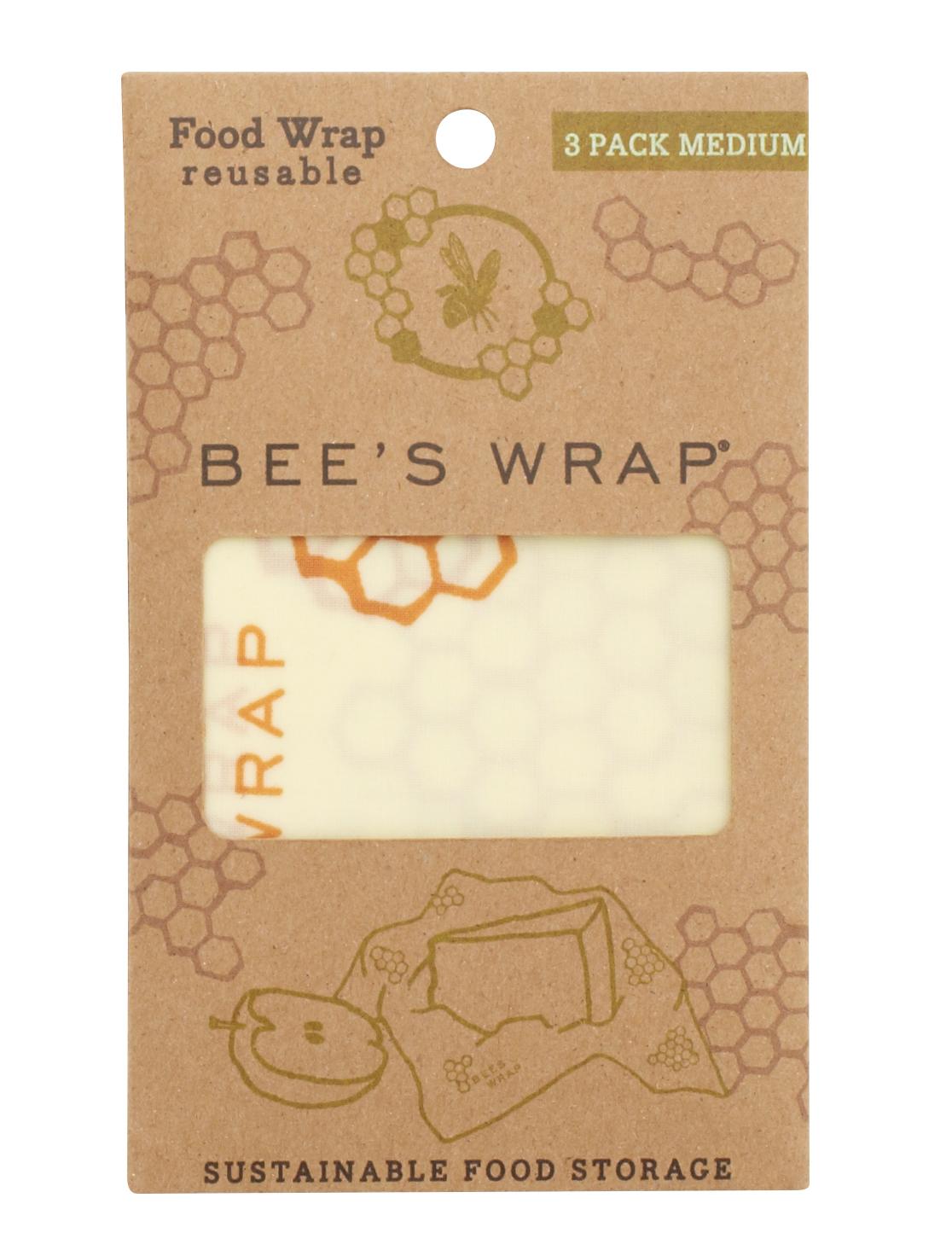 Bienenwachstuch 3er Set Medium