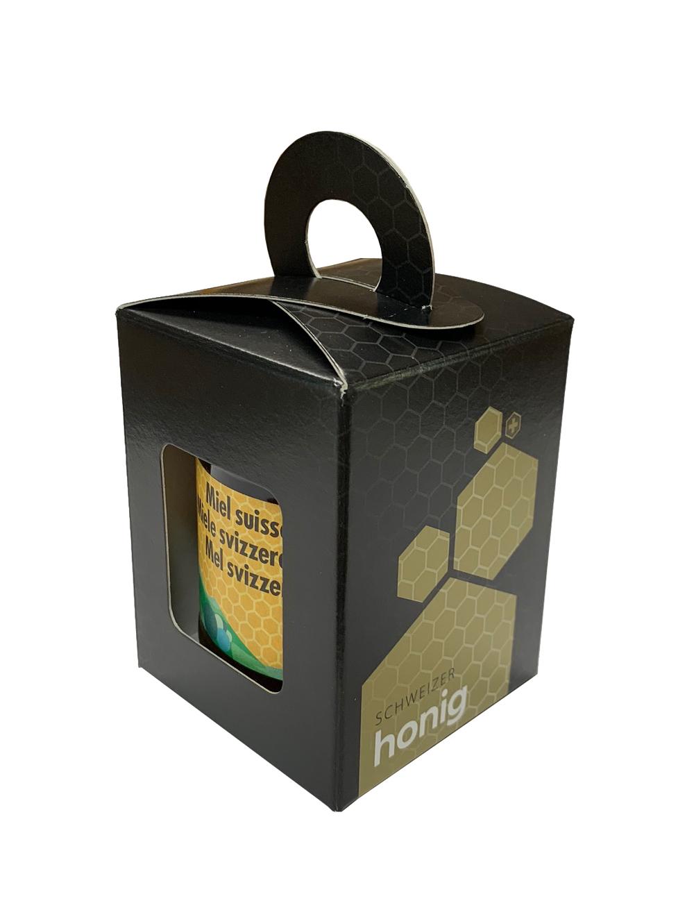 Geschenkpackung Schwarz/Gold 1 x 250 g
