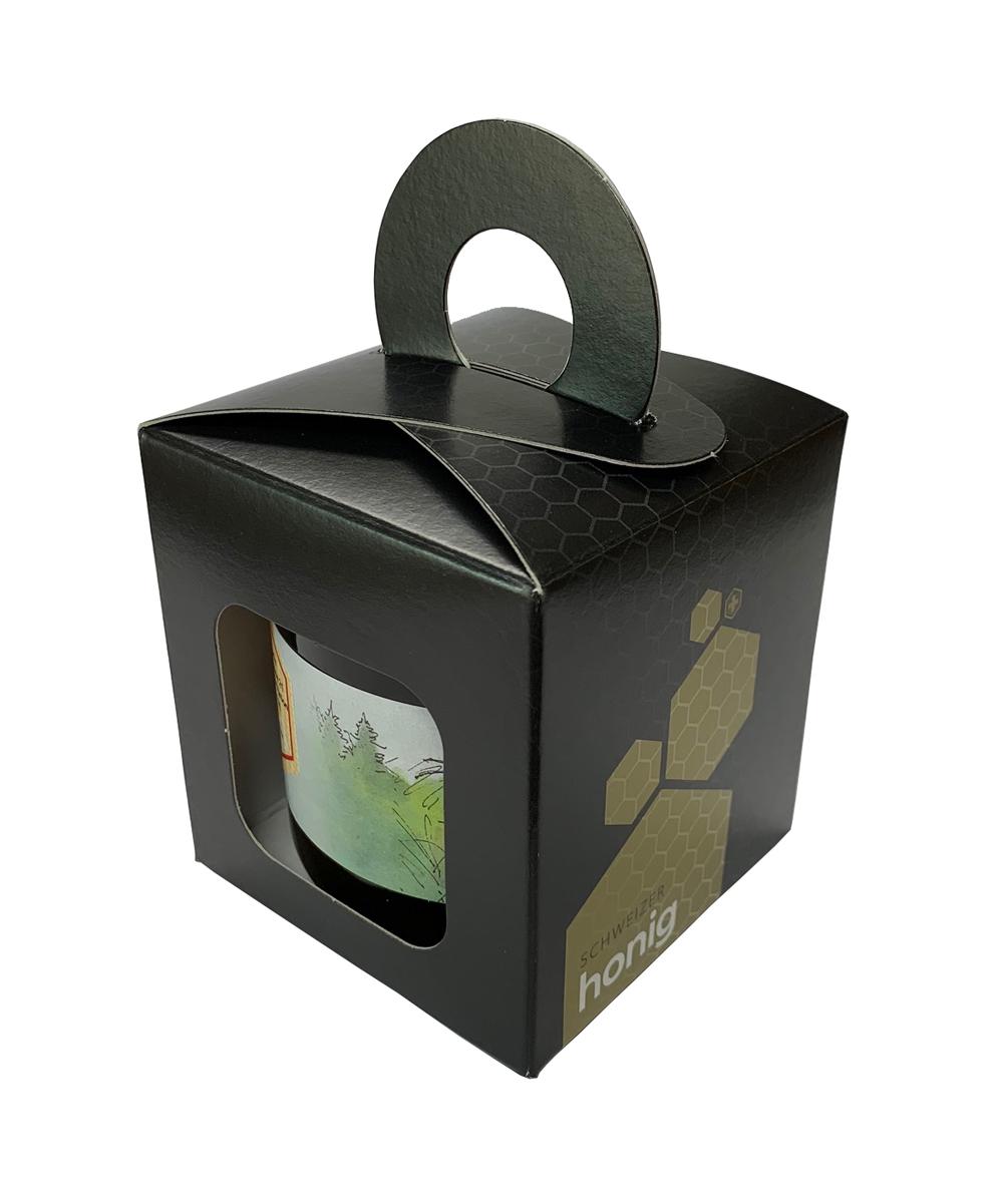 Geschenkpackung Schwarz/Gold 1 x 500 g