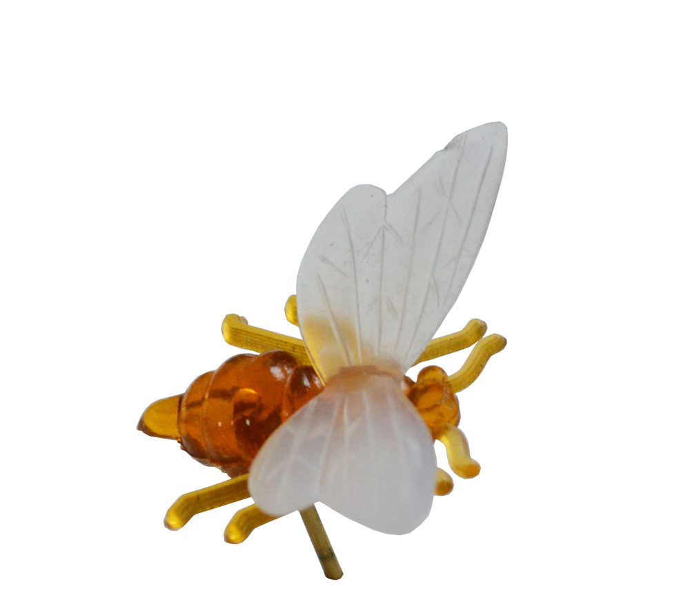 Plastik-Biene