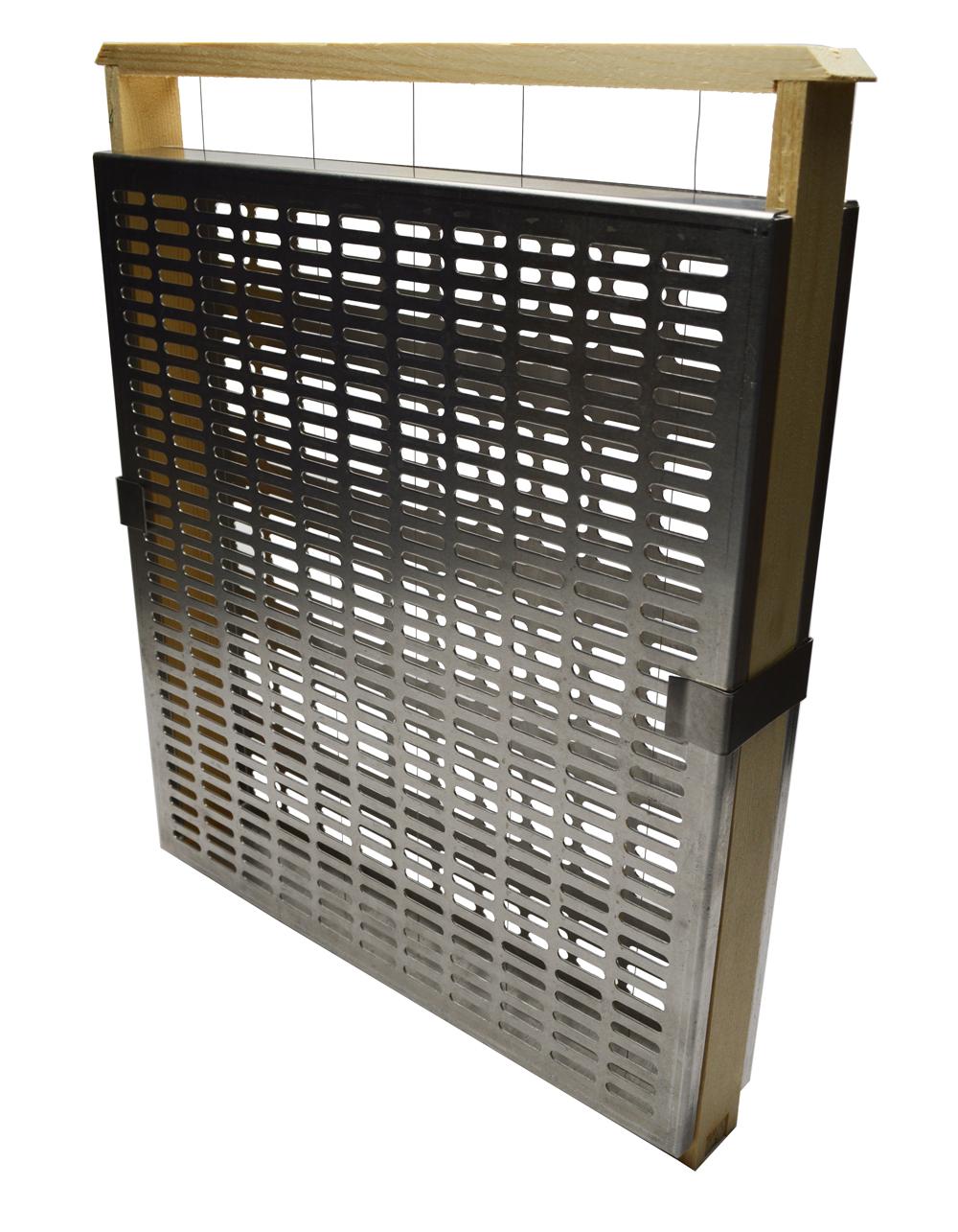 """Cage d'isolation en grille à reine """"Varroastop"""""""