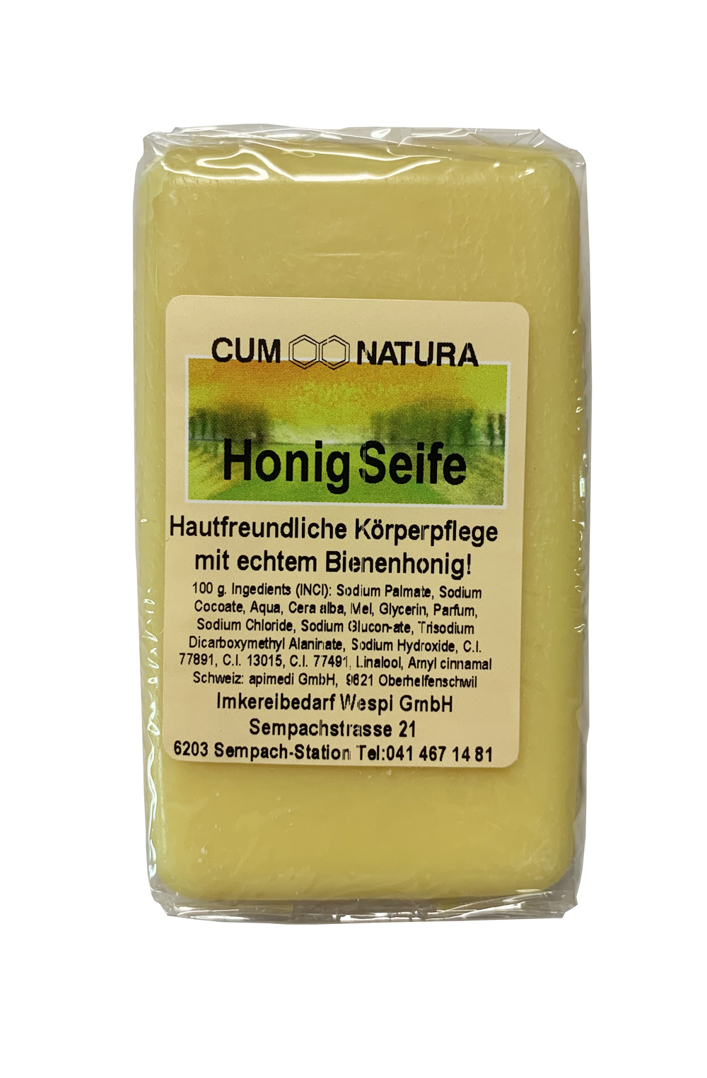 CUM Natura Honig Seife