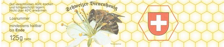 Honig Etiketten 125g