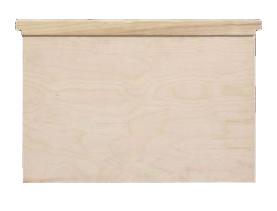 Planche de partition en bois