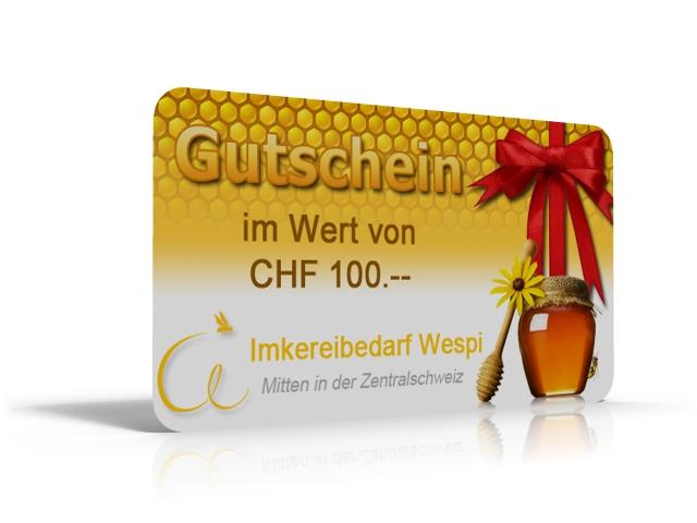 GESCHENK GUTSCHEIN 100.- SFR
