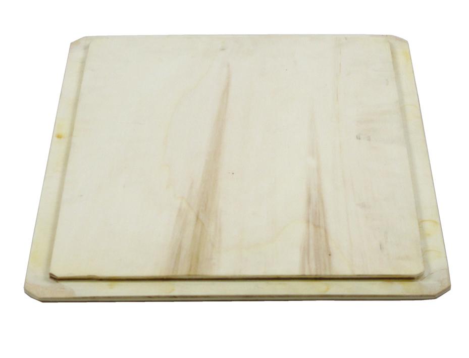 Deckel aus Holz