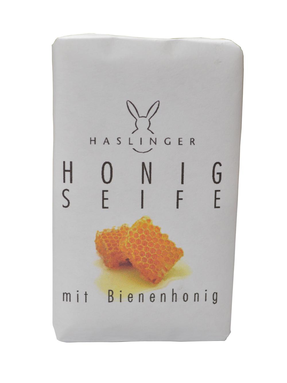 Haslinger Honig Seife 150 g Handverpackt