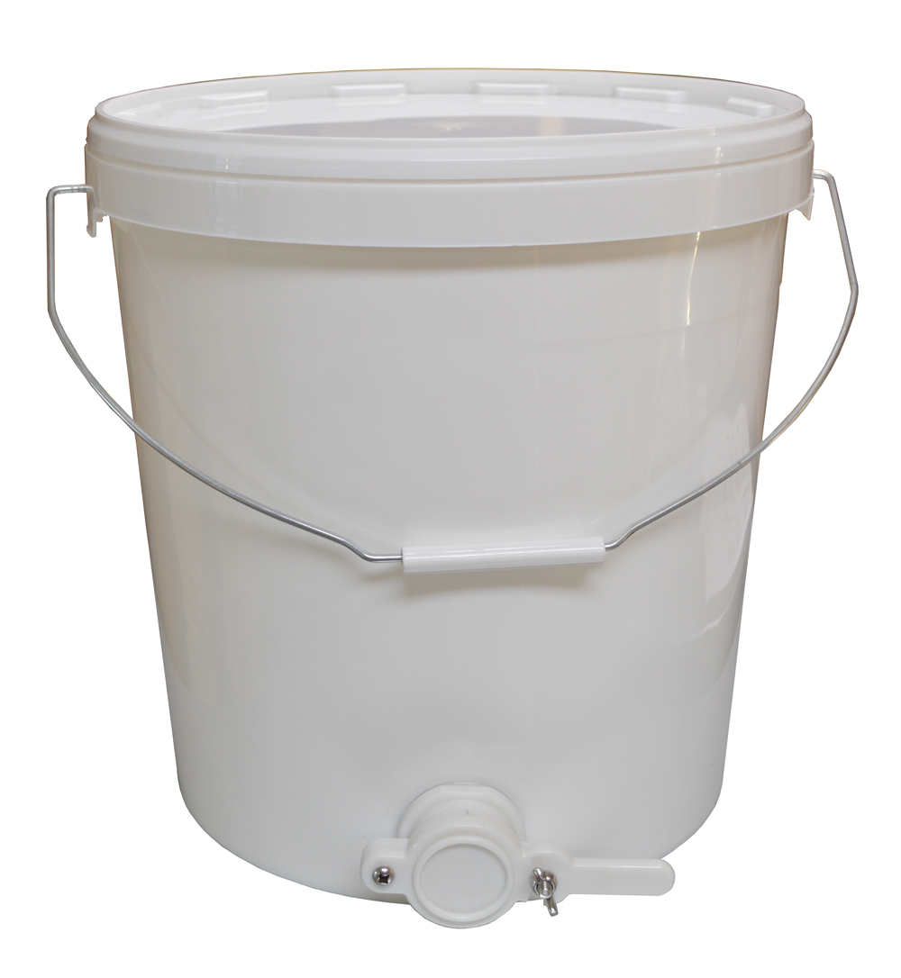Honigabfüll-Kessel 25kg Kunststoff