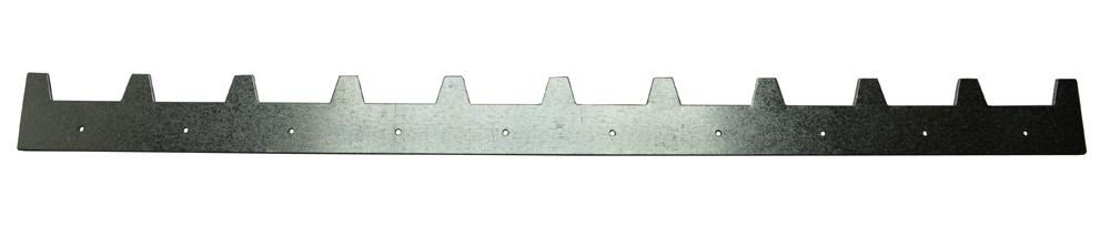 Abstandstreifen Dadant Blatt für 10 Rahmen Inox