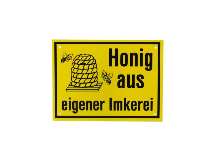 Reklame Tafel klein - Honig aus eigener Imkerei