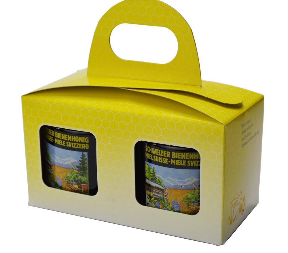 Geschenkpackung Gelb/Biene 2 x 250 g