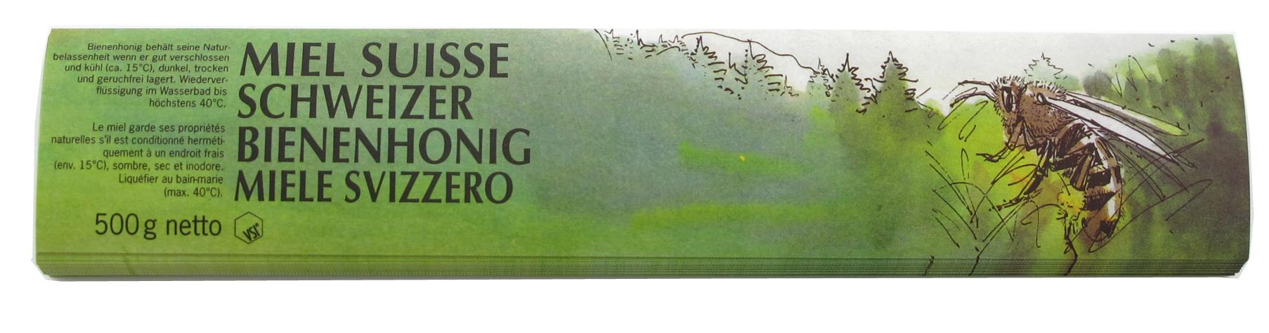 VSI Honig Etiketten 500 g grün