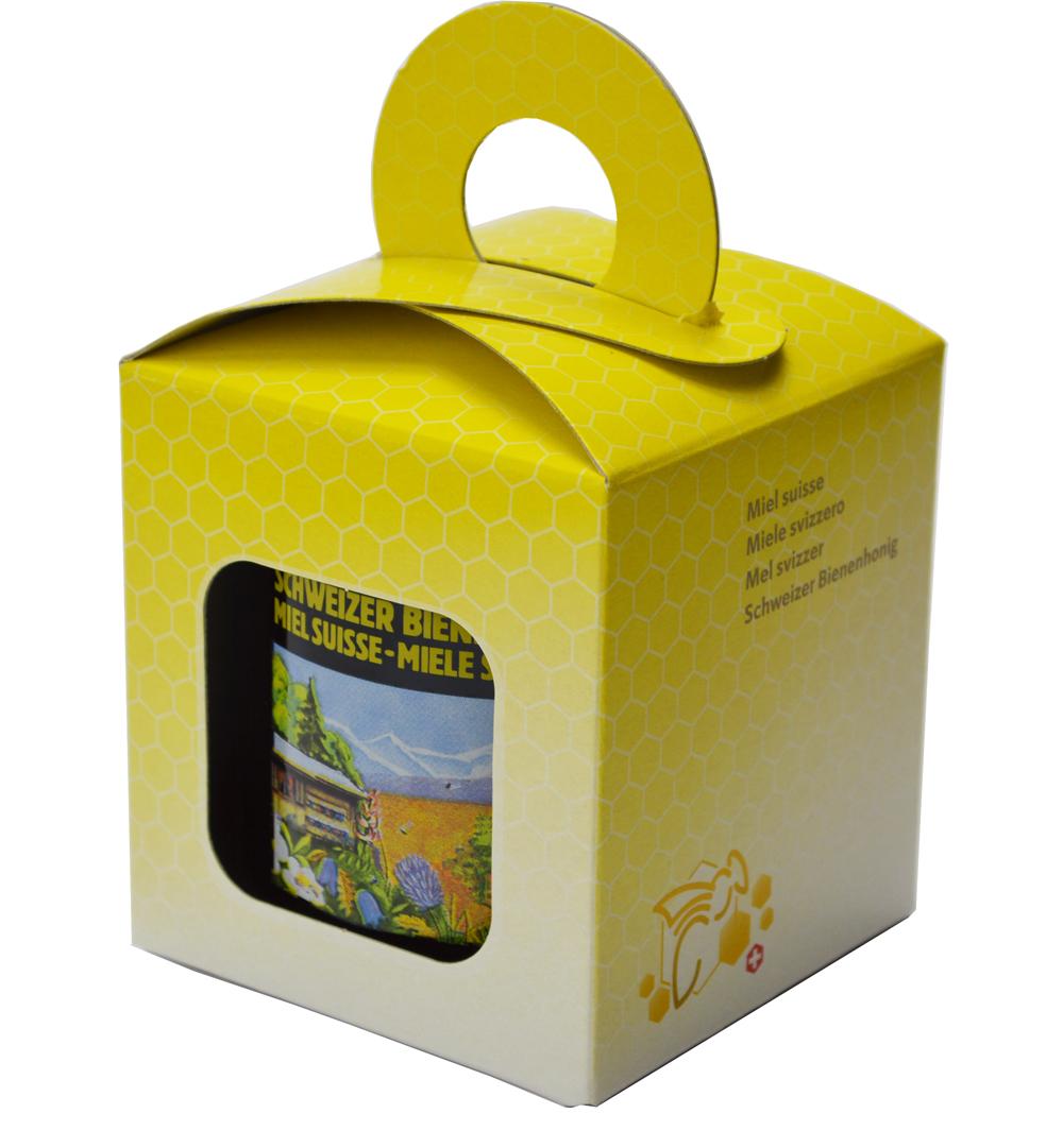 Geschenkpackung Gelb/Biene 1 x 500 g